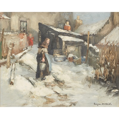 Lot 94 - EUGEN DEKKERT (SCOTTISH 1899-1940)