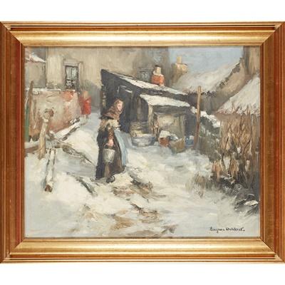 Lot 94 - EUGEN DEKKERT (SCOTTISH 1899-1940)