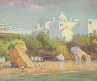Lot 101 - ALAN STENHOUSE GOURLEY (SCOTTISH  1909-1991)