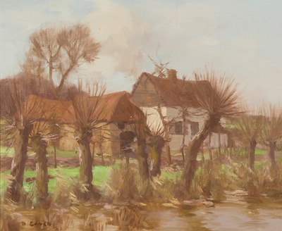 Lot 35 - DAVID GAULD R.S.A (SCOTTISH 1865-1936)