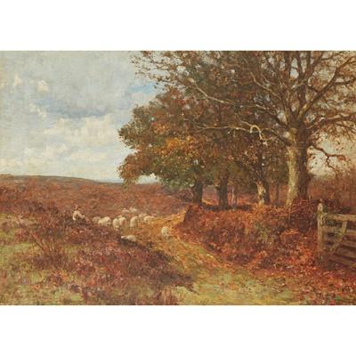 Lot 124 - JOHN WILLIAM ALLISON (BRITISH 1886-1934)
