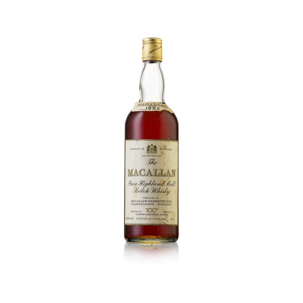 Lot 607-THE MACALLAN 1962 100 PROOF