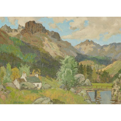 Lot 13 - JAMES WRIGHT R.S.W. (SCOTTISH 1885-1947)