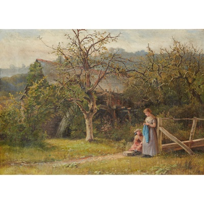 Lot 123 - JOSIAH RUSHTON (BRITISH 1864-1909)