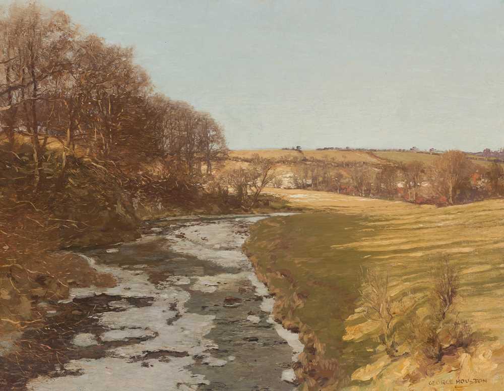 Lot 27 - GEORGE HOUSTON R.S.A, R.S.W., R.G.I (SCOTTISH 1869-1947)
