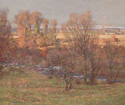 Lot 121 - GEORGE HOUSTON R.S.A, R.S.W., R.G.I (SCOTTISH 1869-1947)
