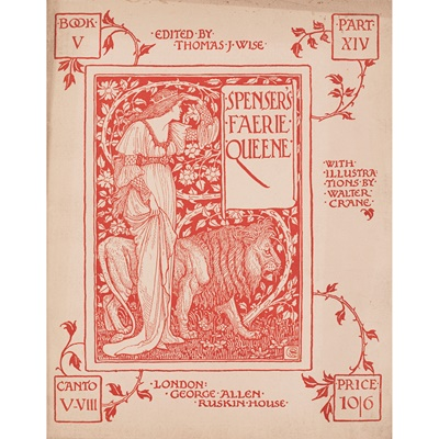 Lot 344 - Spenser, Edmund - Walter Crane, illustrator