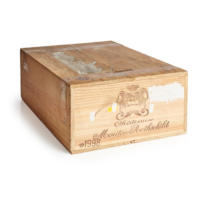 Lot 640-CHÂTEAU MOUTON ROTHSCHILD 1998