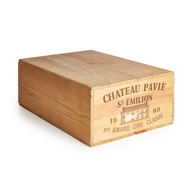 Lot 630-CHÂTEAU PAVIE 1989