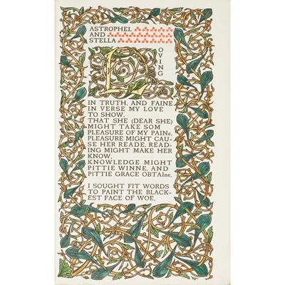Lot 199 - Ricketts, Charles S. - Sir Philip Sidney