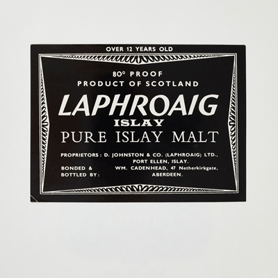 Lot 616-COLLECTION OF WHISKY LABELS