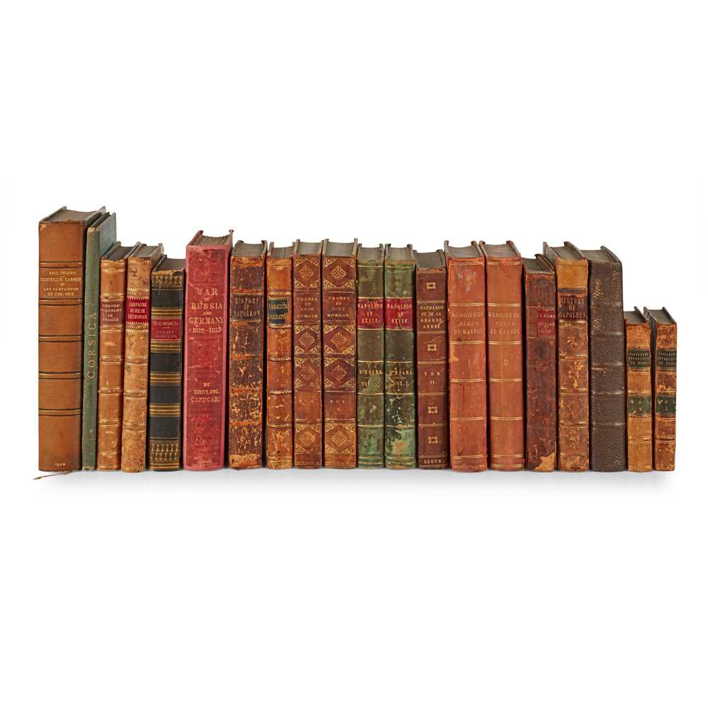 Lot 101 - Napoleonic Campaigns, 20 volumes