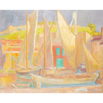 Lot 29 - ALEXANDER GRAHAM MUNRO R.S.W. (SCOTTISH 1903-1985)