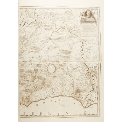 Lot 16 - 2 bound folios of European maps comprising
