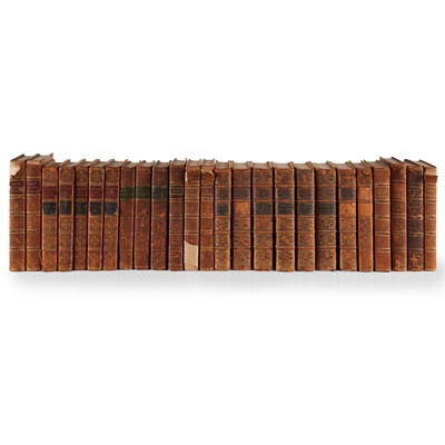 Lot 258 - Leather bindings, a large quantity