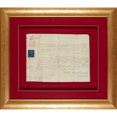 Lot 228 - George III King of Great Britain and Ireland [later the United Kingdom]