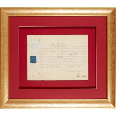 Lot 245 - Victoria, Queen of the United Kingdom of Great Britain and Ireland