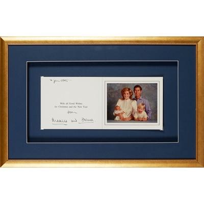 Lot 219 - Diana, Princess of Wales & Prince Charles