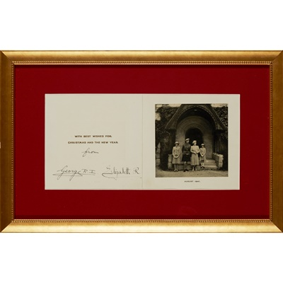 Lot 231 - George VI, King of the United Kingdom & Queen Elizabeth