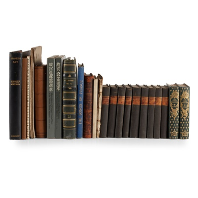 Lot 263 - Miscellaneous cloth-bound books, a large quantity, including