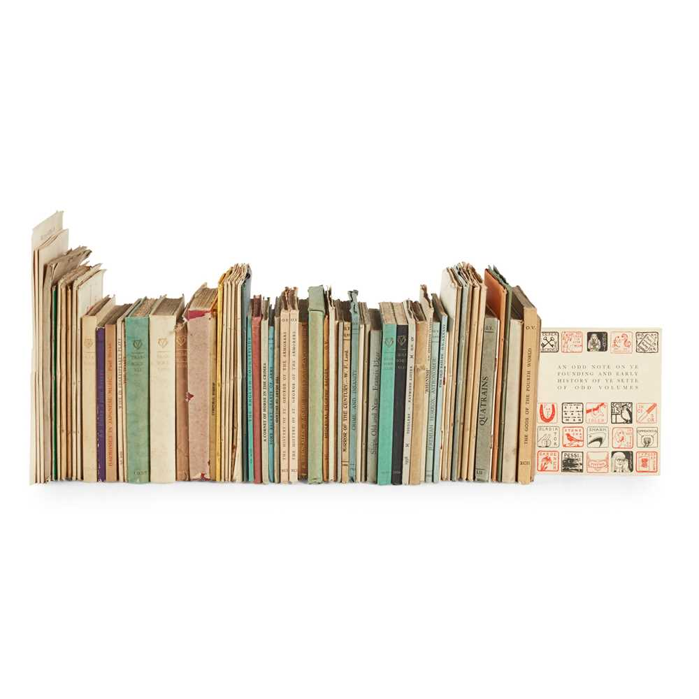 """Lot 120 - """"Sette of Odd Volumes"""" - A large collection"""