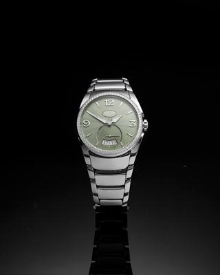 Lot 146 - Parmigiani Fleurier: a lady's diamond set wrist watch