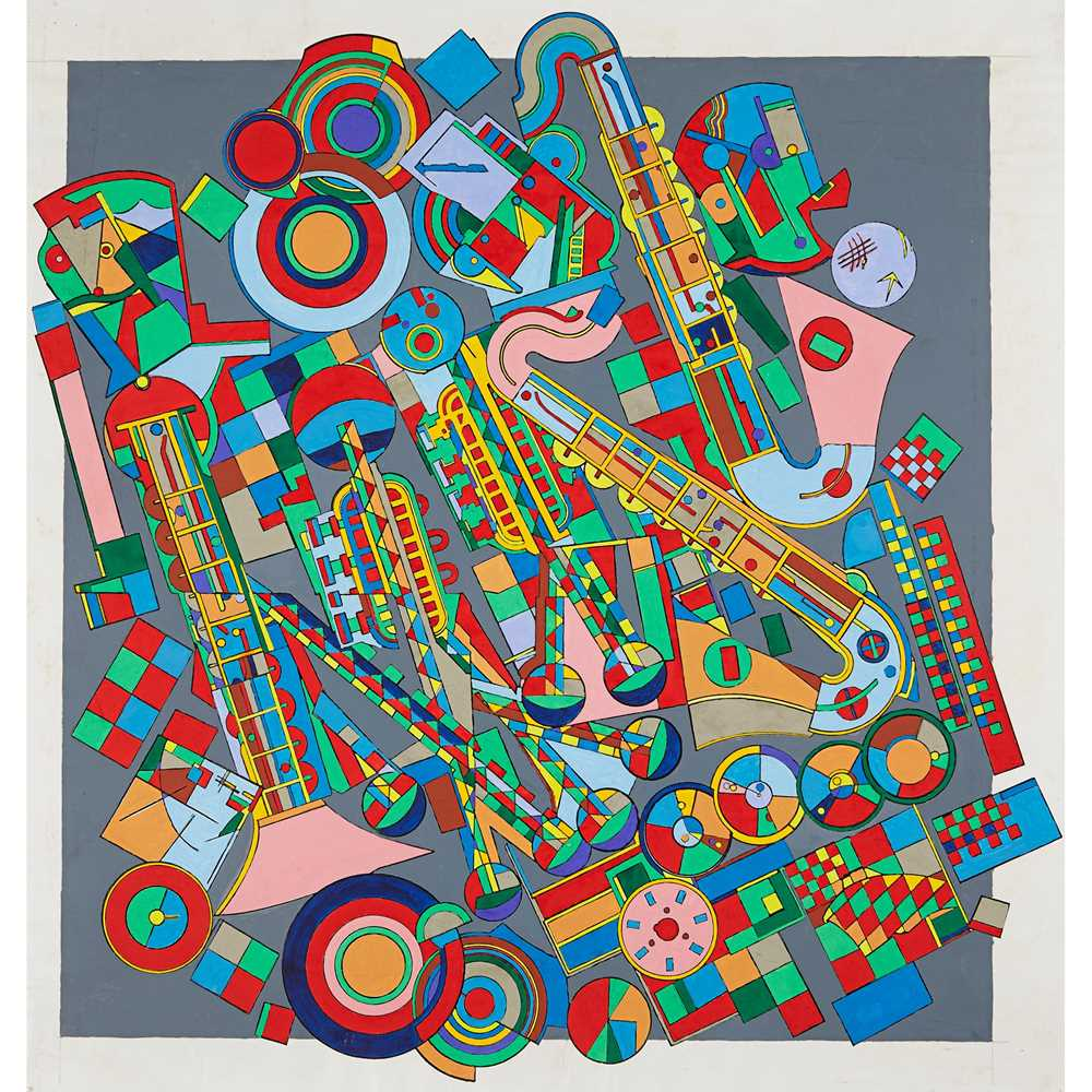 Lot 3 - EDUARDO PAOLOZZI K.B.E., R.A., H.R.S.A. (SCOTTISH 1924-2005)