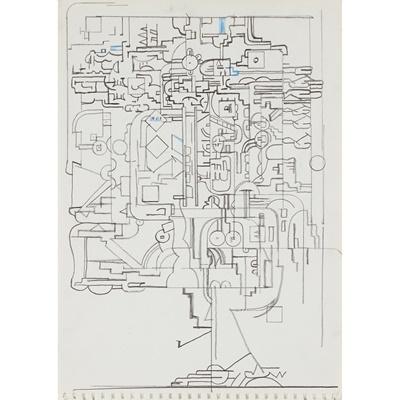 Lot 1 - EDUARDO PAOLOZZI K.B.E., R.A., H.R.S.A. (SCOTTISH 1924-2005)
