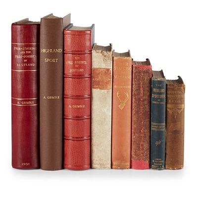 Lot 377 - Highland Sports, 8 volumes, comprising