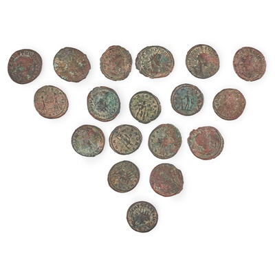 Lot 97 - A mixed collection of coins from Roman to 20th century