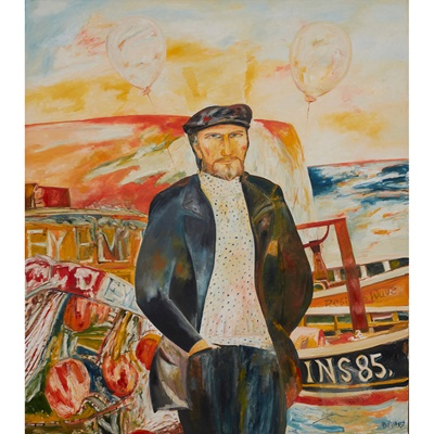 Lot 48 - JOHN BELLANY C.B.E., R.A. (SCOTTISH 1942-2013)