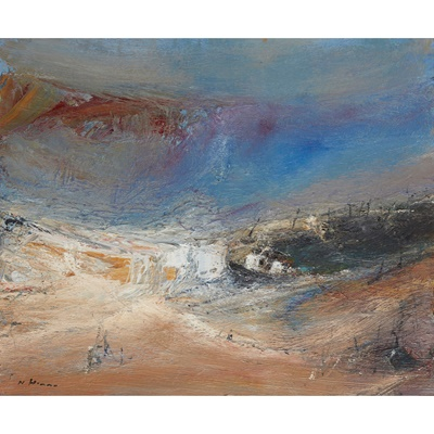 Lot 22 - NAEL HANNAH (IRAQI/SCOTTISH B.1959)