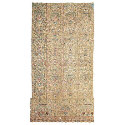 Lot 4 - CONTINENTAL EMBROIDERED HANGING