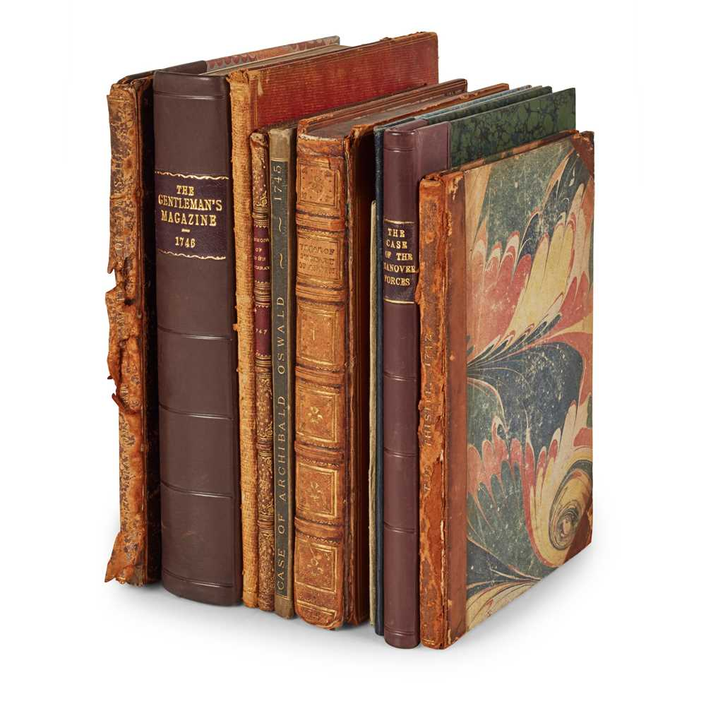 Lot 91 - Jacobite Rising of 1745-46, 10 volumes