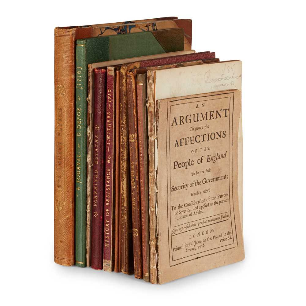 Lot 88 - Jacobite Rising of 1715, 11 volumes
