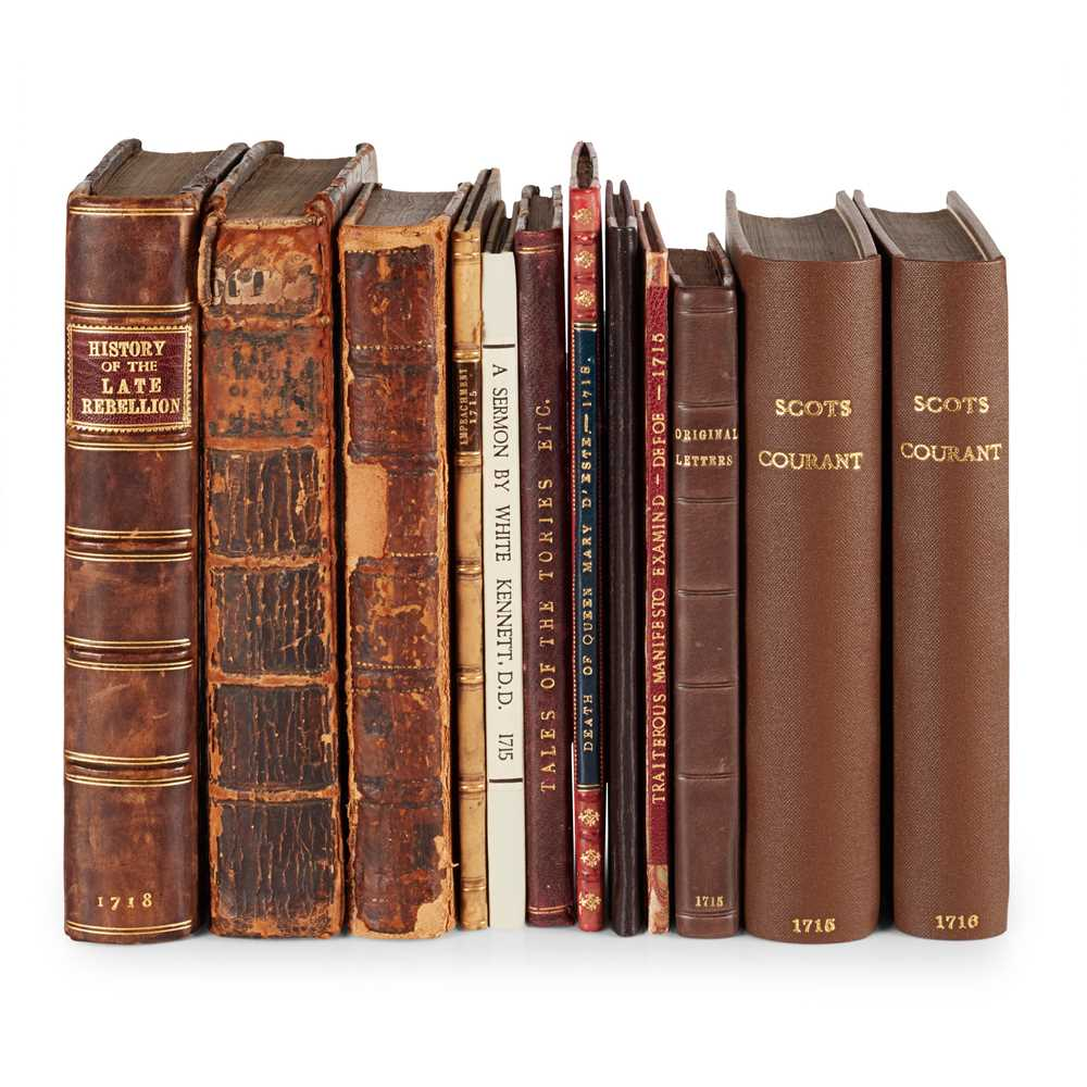Lot 89 - Jacobite Rising of 1715, 12 volumes