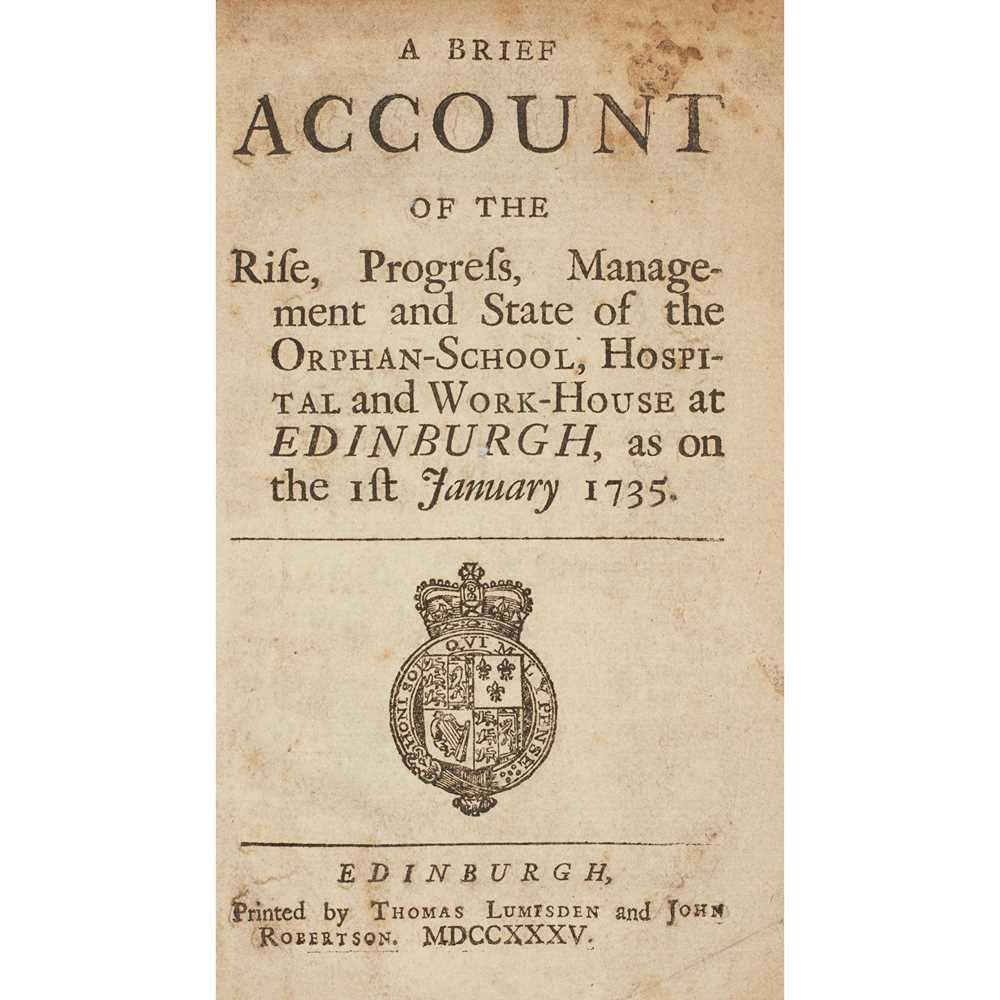 Lot 113 - Three Scottish printings