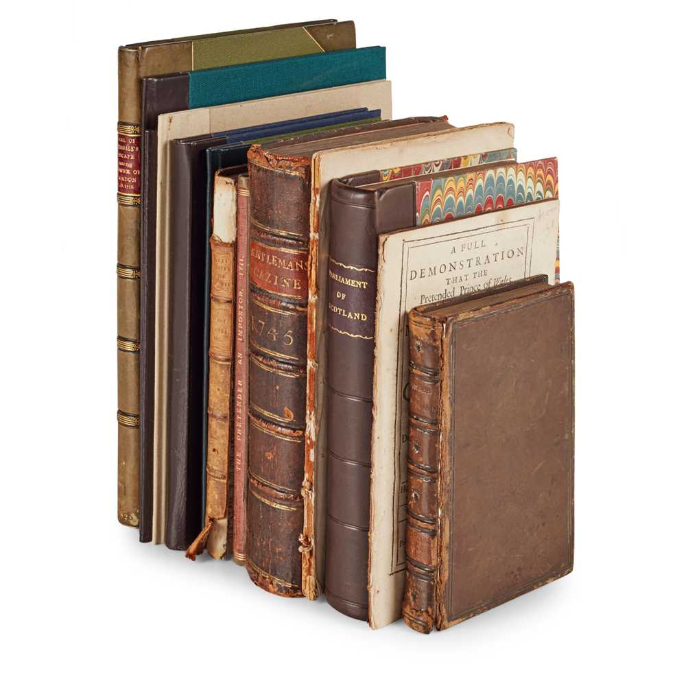 Lot 86 - Jacobite History, 19 works in 12 volumes