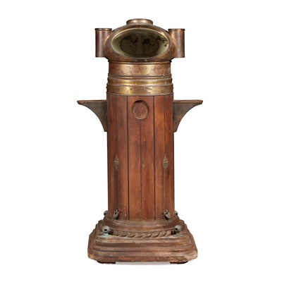 Lot 30 - TAYMOUTH CASTLE INTEREST: SIR WILLIAM THOMSON'S PATENT SHIP'S BINNACLE AND COMPASS