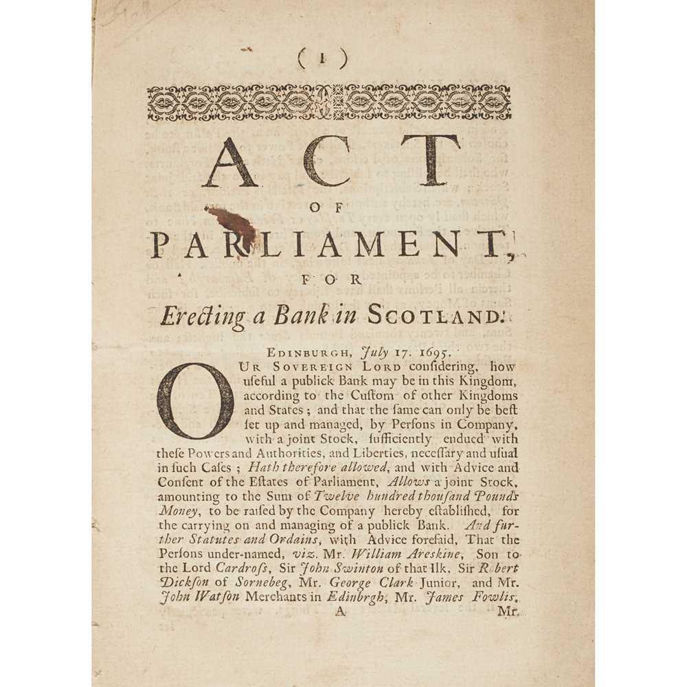 Lot 77 - Bank of Scotland