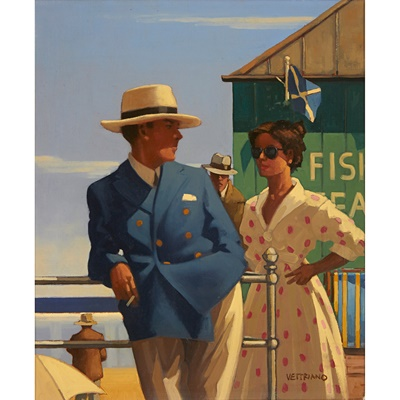 Lot 31 - JACK VETTRIANO (SCOTTISH B.1951)
