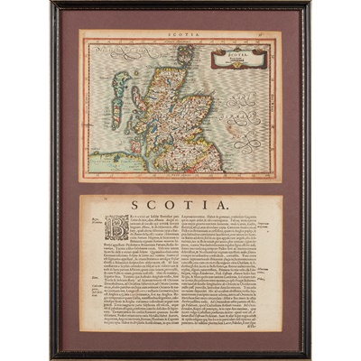 Lot 32 - Maps of Scotland