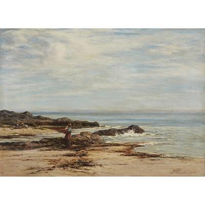 Lot 66 - JOSEPH HENDERSON R.S.W (SCOTTISH 1832-1908)