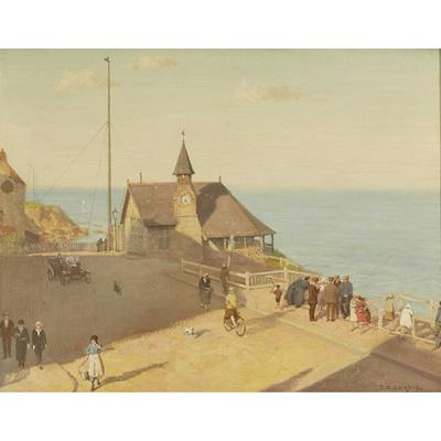 Lot 65 - THOMAS BOWMAN GARVIE (BRITISH 1859-1944)