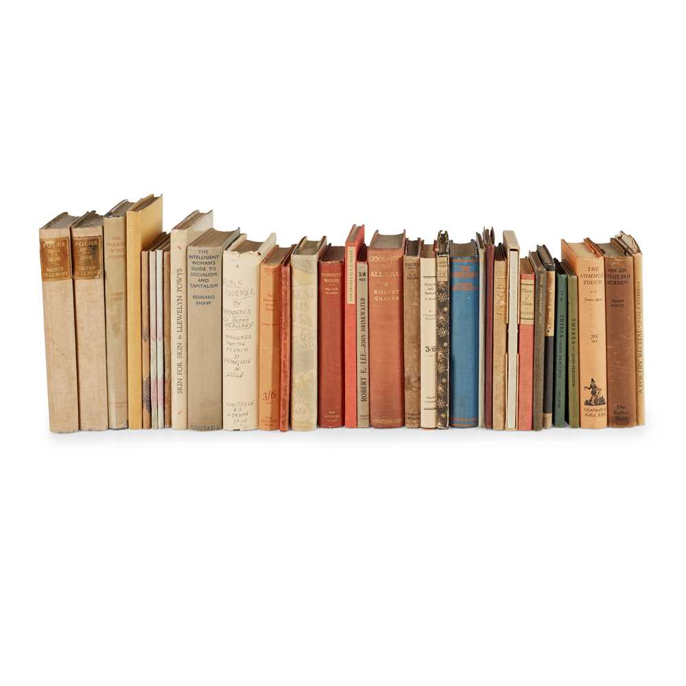 Lot 124 - 1920's Literature