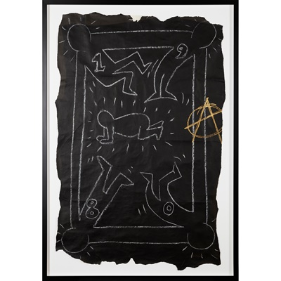 Lot 44 - KEITH  HARING  (AMERICAN  1958-1990)