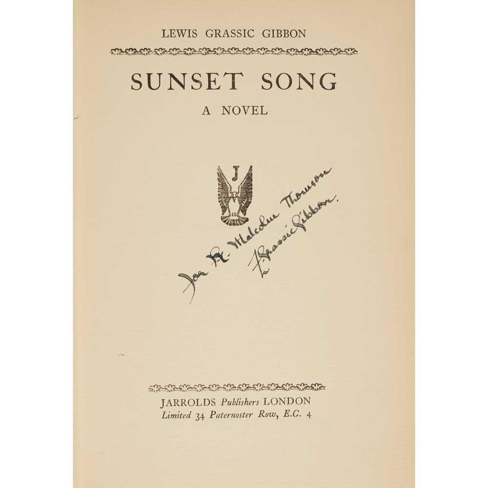 "Lot 117 - ""Grassic Gibbon, Lewis"" [James Leslie Mitchell]"