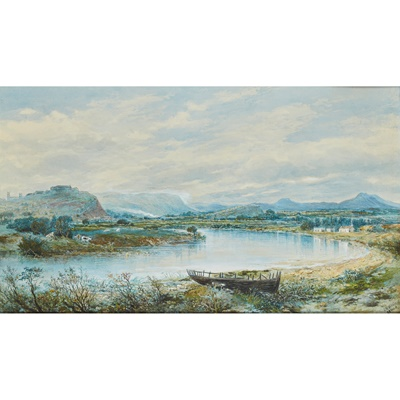 Lot 54 - CHARLES NICHOLLS WOOLNOTH R.S.W. (SCOTTISH 1815-1906)