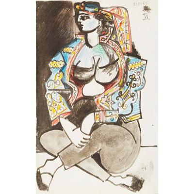 Lot 6 - Picasso, Pablo - Picasso's Sketchbook