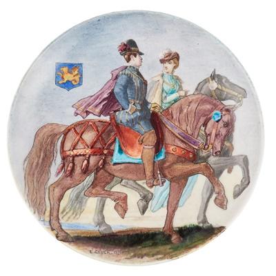 Lot 72 - EUGÈNE GLUCK (1820-1898) FOR THÉODORE DECK (1823-1891)